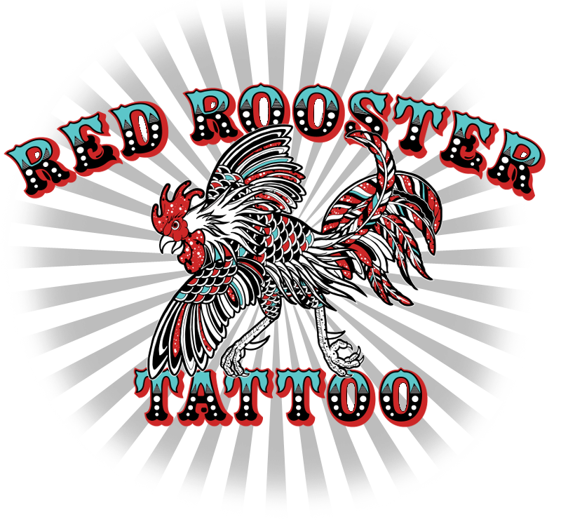 Red Rooster Tattoo